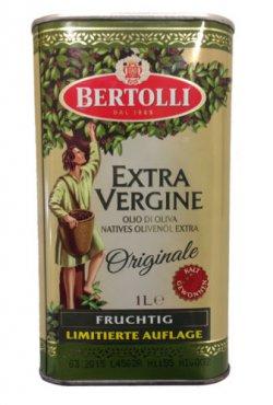 1L Bertolli Extra Vergine Natives für nur 3,99 € kostenloser Versand, MHD 01/2015 [idealo 7,99 €] @ Ebay