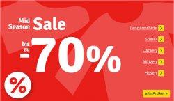 Mid Season Sale bei myToys, bis zu 70 % Rabatt