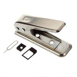 Nano SIM Cut Cutter inkl. 2 SIM-Karten Adapter für 1,77€ inkl. Versand [idealo 6,09€] @ebay