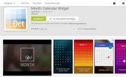 nur heute gratis statt 3,86€ Month: Calendar Widget als werbefreie Vollversion @googleplaystor