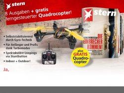 portofrei 8 Ausgaben Stern + Quadrocopter für 19,90€ @mp-success