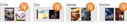 @reBuy : Alles muss raus + 5€ Gutschein (MBW:30€) Sortiert nach Games, CDs, DVDs, Bücher für unter 1€, Blurays für unter 5€