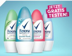 Roll-on Deo von Rexona gratis testen durch cashback