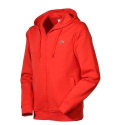 Sale bei centercourt + 15% auf alle Lacoste Artikel. z.B. Lacoste Fleece Zippered Hoodie für 59,41€ (idealo: ab 70€)