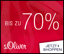 Sale mit bis zu 70% Rabatt + 10% Newsletterrabatt + keine Versandkosten @ s.Oliver