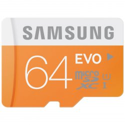 Samsung EVO Micro SD 64GB Class 10 SDXC Speicherkarte 20€ statt 35€