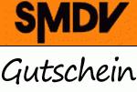 @SMDV.de bietet 5,95 € Gutschein ab 35 € Bestellwert + VSK frei ab 25€ Bestellwert