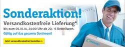 Sonderaktion, VERSANKOSTENFREI bis zum 05.10.14 @ conrad.de