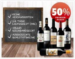 Spanische Spitzenweine, 6 Flaschen für 29,90 €uro ( statt 61,70 €), verrsandkostenfrei @ vinos.de