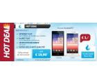 Sparhandy Hot Deal: Allnet-Flat + Internet-Flat + Huawei Ascend P7 für 19,90 € mtl.
