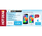 Sparhandy Hot Deal: Samsung Galaxy S5 Mini für 1 € + Allnet-Flat + SMS-Flat + Internet-Flat für 24,90 € mtl.