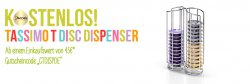 Tassimo T DISC Kapselbehälter im Wert von 13,50€ gratis ab 45€ Bestellwert @Tassimo