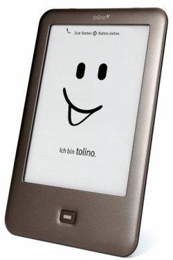 Tolino shine mit E Ink® Pearl Technologie, WLAN, Gratis-Zugang zu Telekom HotSpots und integrierte Beleuchtung bei @buecher für 84€ (idealo: 96,91€)