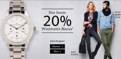 Tom TAILOR: 20% auf alle nicht reduzierten Artikel – MBW 24€ , Versand 2,95€