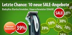 Voelkner Sale, neue Preiskracher, z.B: Bartschneider 49 € incl Versand (Ideaol 56,99 €)