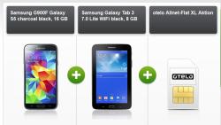 Weekend-Deal(D-NETZ) Otelo AllnetFlat XL mit Smartphone und gratis Tablet für 29,99€ mtl. @Modeo