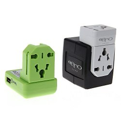 Zero internationaler Universal-Adapter-Stecker mit 1 Port 1A USB 1 Port 2.1A USB für 16,99€ + Versand @Amazon