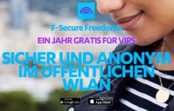 1 Jahr komplett GRATIS: F-Secure Freedome VPN für Android + iOS @Google Play und itunes