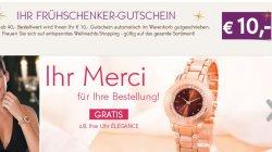 10,-€ Frühschenker Gutschein (MBW:40€) bei Yves Rocher auch auf Angebote oder bereits Reduziertes + Gratis Damenuhr