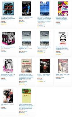 14 neue gratis-eBooks: zB der romantische Fantasy-Endzeitroman Violet – Buch 1-4