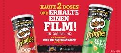 2 Dosen Pringles kaufen und einen Film in digital HD aus Google Play GRATIS bekommen