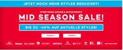 25€ Gutschein mit  MBW 125€ + Mid Season Sale bis zu 40% Rabatt @Plaet Sports