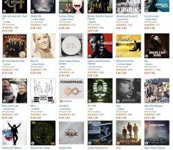 3 MP3-Alben für 12€ (3000 Alben zur Auswahl) @Amazon