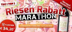 3 Tage Riesen Rabatt Marathon @Weinvorteil