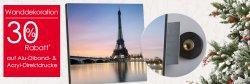30% Rabatt auf alle AluDibond- und Acryl-Direktdrucke bei Foto Quelle