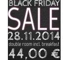 44,00 € im Doppelzimmer inklusive Frühstück in Berlin (Lindemann Hotels)