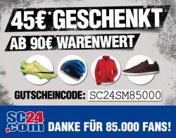 45€ Rabatt (90€ MBW) auf Marken-Sportartikel + 5€ bet-at-home Wettgutschein