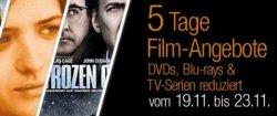 5-Tages-Aktion mit günstigen Blu-rays und DVDs @ Amazon