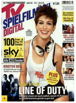 6 Monate Abo TV SPIELFILM XXL Digital für rechnerisch 0,35 € @ Leserservice