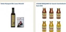 6er Saucen Geschenkset inkl. Koch-DVD von STEFAN MARQUARD für 9,99€ oder Stefan Marquard Bio Luxus Olivenöl für 4,99€ inkl. Versand