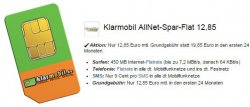 AllnetFlatrate mit 250MB Surf-Flat für nur 9,95 @logitel.de
