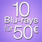 Amazon Aktion: 10 Blu-rays für 50 €