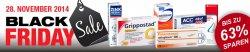 apo-discounter.de: Black Friday Sale – Bis zu 63 Prozent Rabatt auf Paracetamol, Grippostad C & Co