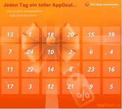 Appventskalender Jeden Tag eine neu App als Geschenk @ Appdeals
