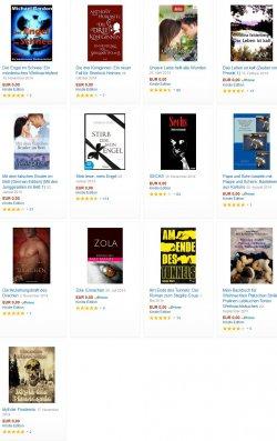 Auch heute 14 neue gratis-eBooks. zB. der Bestseller / Psychothriller  SECHS @Amazon