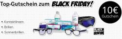 Black Friday bei Lensbest: 10 Euro Gutschein für Kontaktlinsen und Brillen
