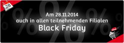 Black Friday bei mStore am 28.11.2014