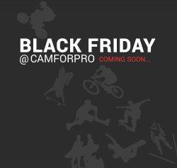 Black Friday bis zu 70% sparen auf GoPro Zubehör & Co @Camforpro.com