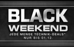 Black Friday + Black Weekend + Cyber Monday @Saturn.de
