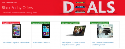 Black Friday Offers Deals bei Microsoft @Microsoft Store