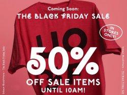 Black Friday Sale mit bis zu 50% Rabatt @Urban Outfitters