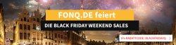 Black Friday Weekend Sales + 5 Prozent Gutschein + täglich ein spezial Angebot bei fonq.de