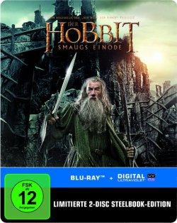 [ Blu-ray ] Der Hobbit: Smaugs Einöde Steelbook für 9,97€ [idealo 27,98€] @Amazon