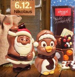 chocri.de: Leckere ausgefallene Schokolade bestellen (MBW: 15€) und Nicolaus für 4,95€ durch Gutschein dazu erhalten