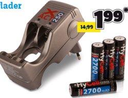 @conrad: HyCell Steckerladegerät Xact 250 inkl. 4 Mignon-Akkus für 1,99€ dazu bestellen bei MBW 49€