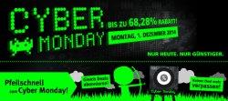 Cyber-Monday @comtech, bis zu 68,28% Rabatt am Montag den 01.12.2014